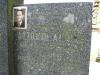 Hrob Antonína Alinče, zavražděného rukojmí, hřbitov Trhová Kamenice (Pardubický kraj). Oběť druhé světové války.