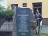 Instalace památníku obětem holocaustu a příslušníkům Royal Air Force z Trhové Kamenice (Pardubický kraj), který byl zrealizován Klubem vojenské historie 276th Sqdn. (reenacted) RAF, o. s.