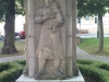 Kutná Hora. Památník padlým a umučeným za občanské války a ve Španělsku a za druhé světové války.