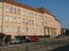 Brno, shromaždiště Židů před transportem do Terezína. Zde byla internována Josefína Löwyová se svou rodinou.