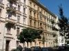 Jiráskova ulice, někdejší ulice Tivolli, Brno. Bydliště manželů Löwyových.