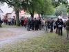 Slavnostního ceremoniálu se zúčastnilo cca 130 osob. Budiž jim za jejich účast dík. Odhalení památníku obětem holocaustu a příslušníkům Royal Air Force z Trhové Kamenice, 2. 9. 2012, Trhová Kamenice. Památník byl zrealizován Klubem vojenské historie 276th Sqdn. (reenacted) RAF, o. s. za přispění Pardubického kraje, Mikroregionu Hlinecko, Jana Bauera, Anny Bergmanové, městyse Trhová Kamenice, statutárního města Kladno, Svazu letců svobodného Československa a dalších dárců. Autory fotografií jsou Michal a Jana Břízovi, Petr Moravec, Filip Procházka.
