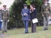 Slavnostní ceremoniál moderoval realizátor památníku a zakladatel KVH 276th Sqdn. (reenacted) RAF, o. s Filip Procházka. Odhalení památníku obětem holocaustu a příslušníkům Royal Air Force z Trhové Kamenice, 2. 9. 2012, Trhová Kamenice. Památník byl zrealizován Klubem vojenské historie 276th Sqdn. (reenacted) RAF, o. s. za přispění Pardubického kraje, Mikroregionu Hlinecko, Jana Bauera, Anny Bergmanové, městyse Trhová Kamenice, statutárního města Kladno, Svazu letců svobodného Československa a dalších dárců. Autory fotografií jsou Michal a Jana Břízovi, Petr Moravec, Filip Procházka.