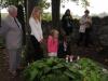 Pietní akt za oběti holocaustu - židovský hřbitov Dřevíkov, Pardubický kraj, 2. 9. 2012v
